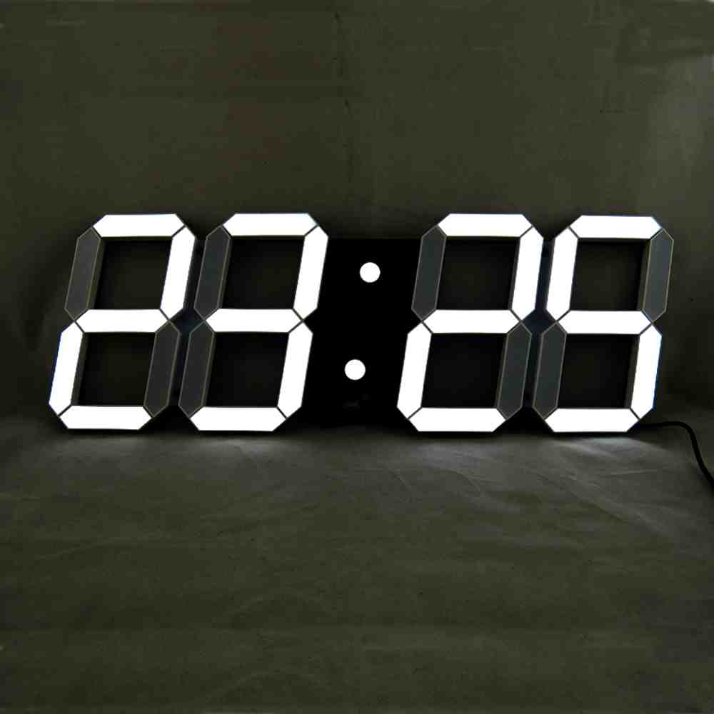Large Led Digital Wall Clock