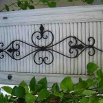 Large Wrought Iron Wall Decor