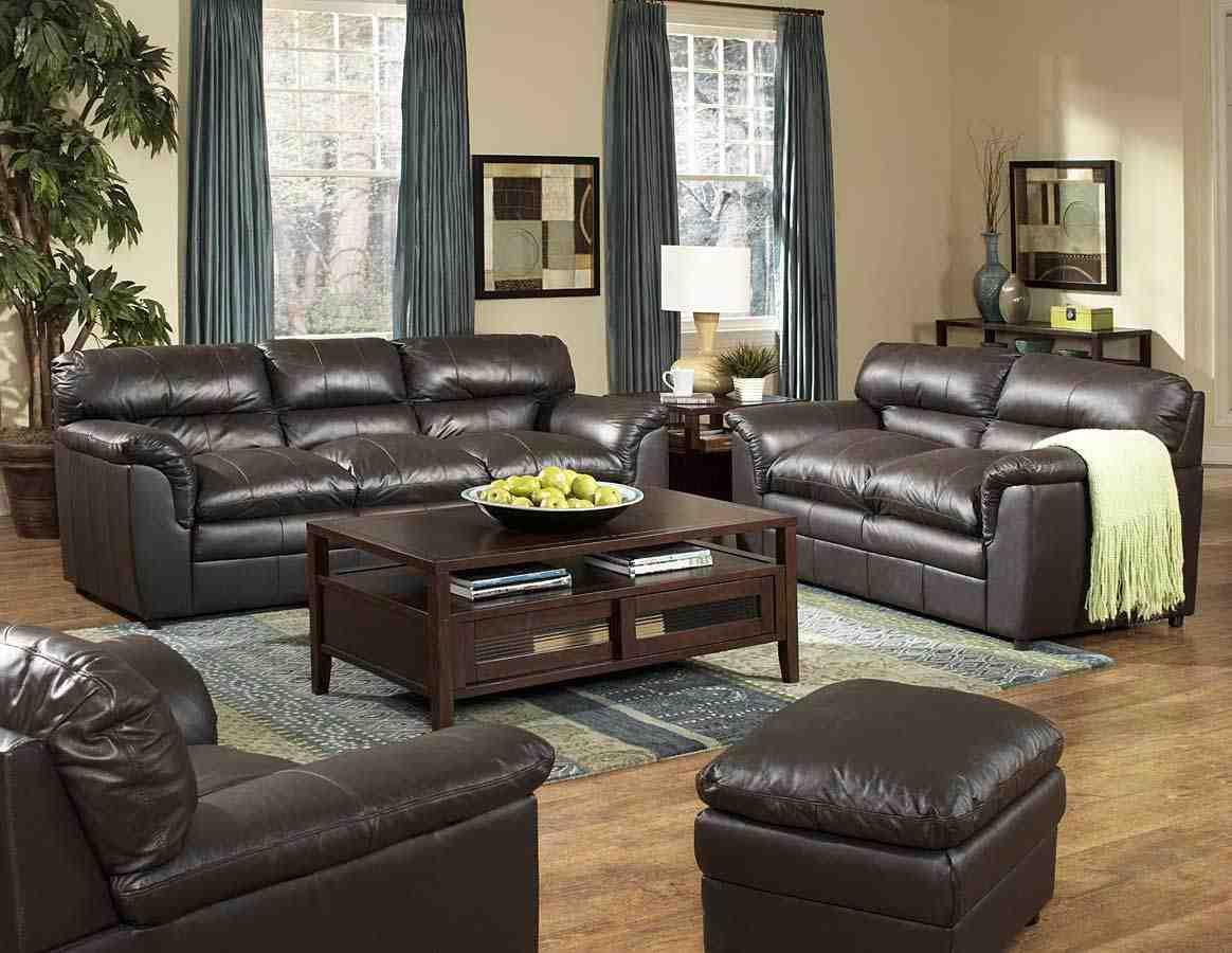 Leather Living Room Furniture Sets   Decor Ideas