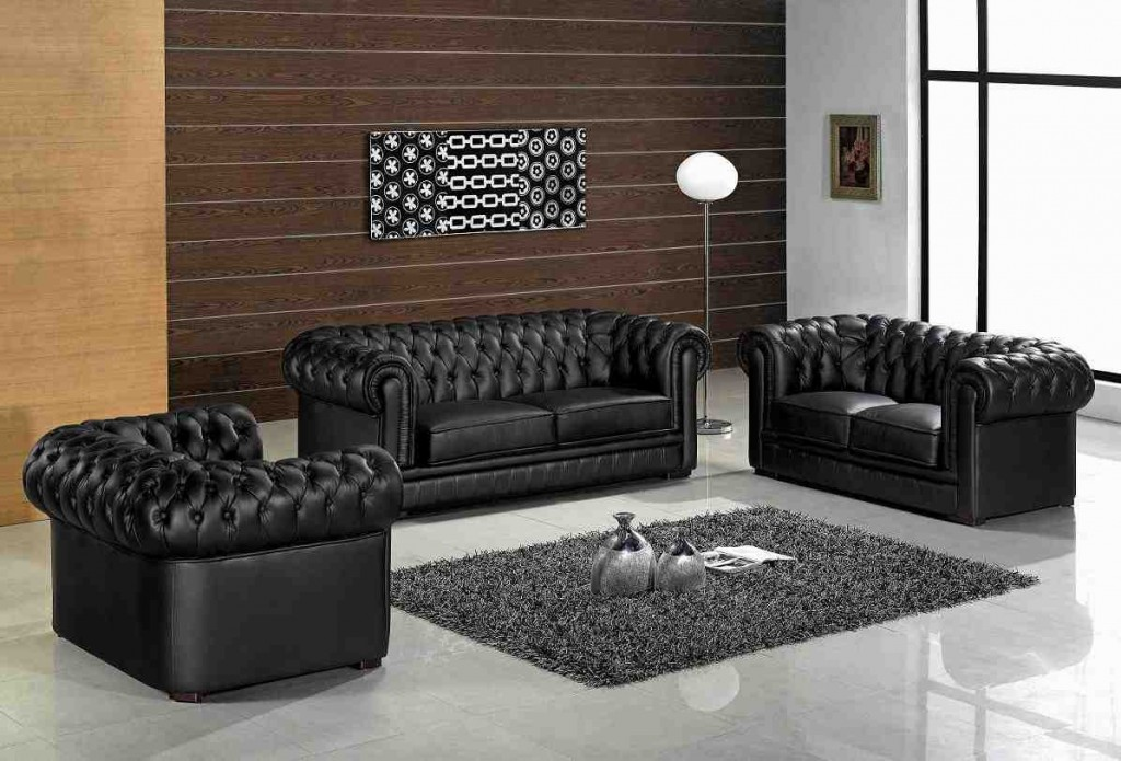 Leather Living Room Sets for Cheap