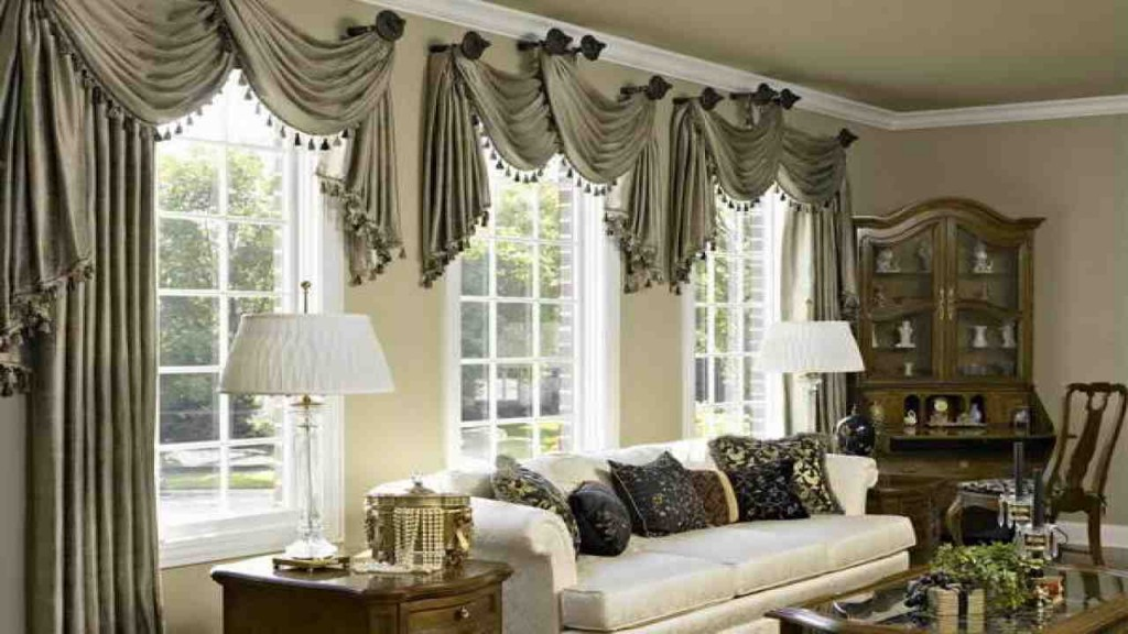 Living Room Curtains Drapes