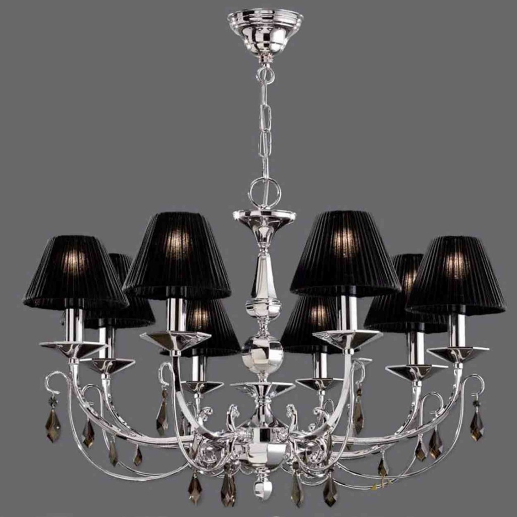 Mini Chandelier Lamp Shades