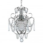 Mini Crystal Pendant Chandelier