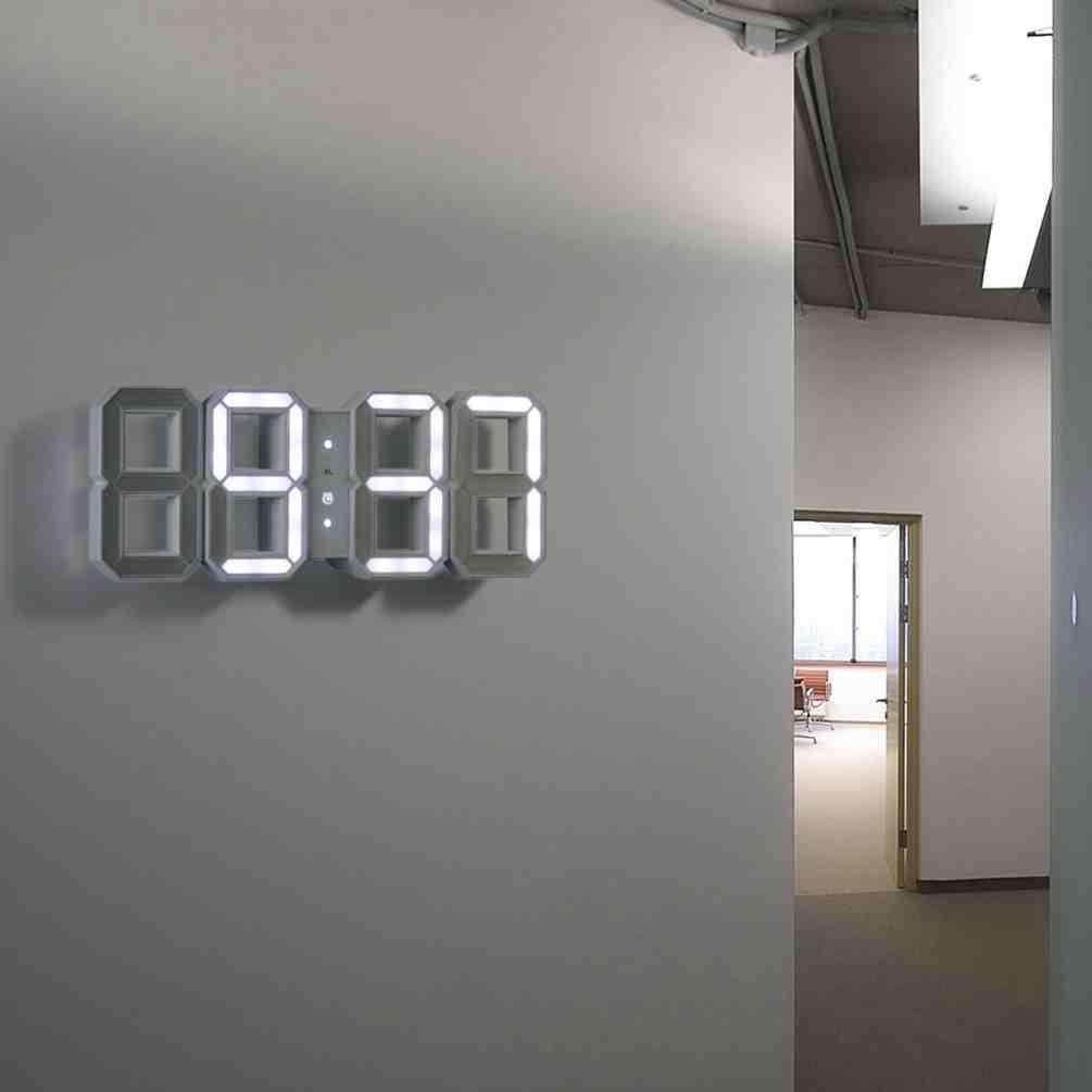 Modern Digital Wall Clock