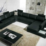 Modern Leather Living Room Set