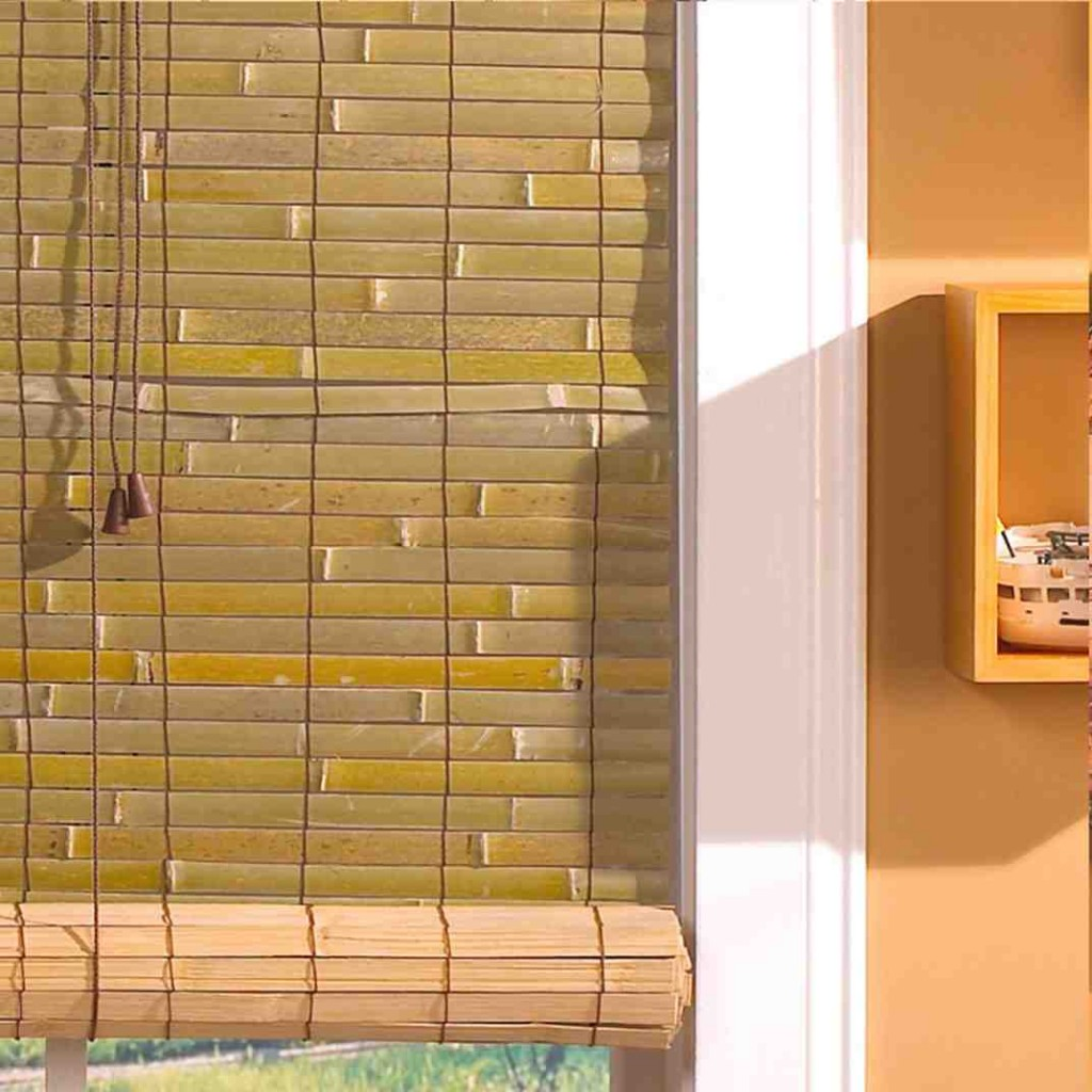 Outdoor Bamboo Roll Up Blinds