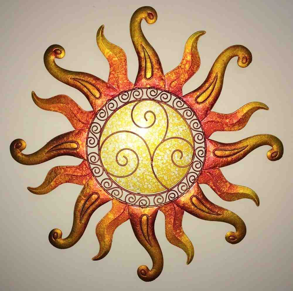 Outdoor Sun Wall Decor