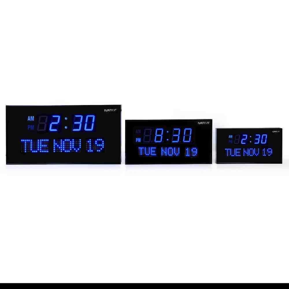 Oversized Digital Wall Clock