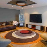 Round Living Room Rugs