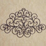 Rustic Wrought Iron Wall Decor