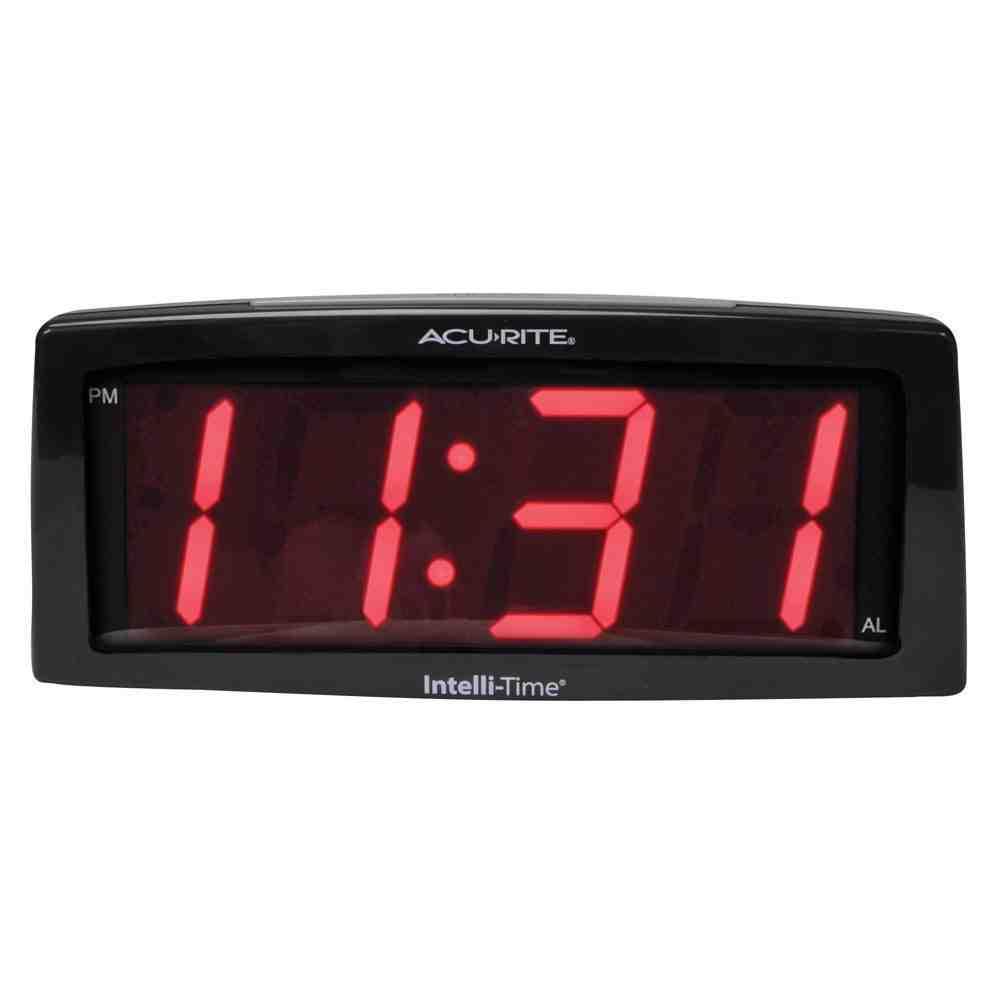 Small Digital Wall Clock