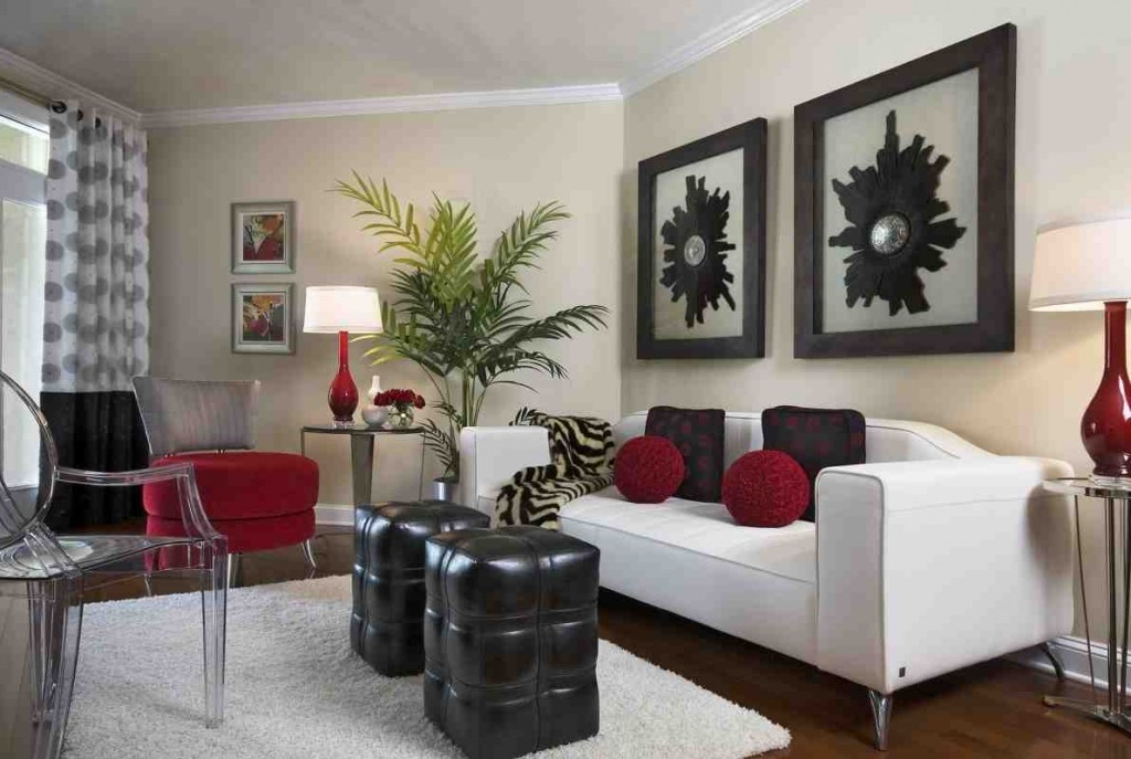 White Leather Couch With Black Cushions Combined With Clear Acrylic Living Room Chairs  Appealing Awesome Acrylic Living Room Chairs