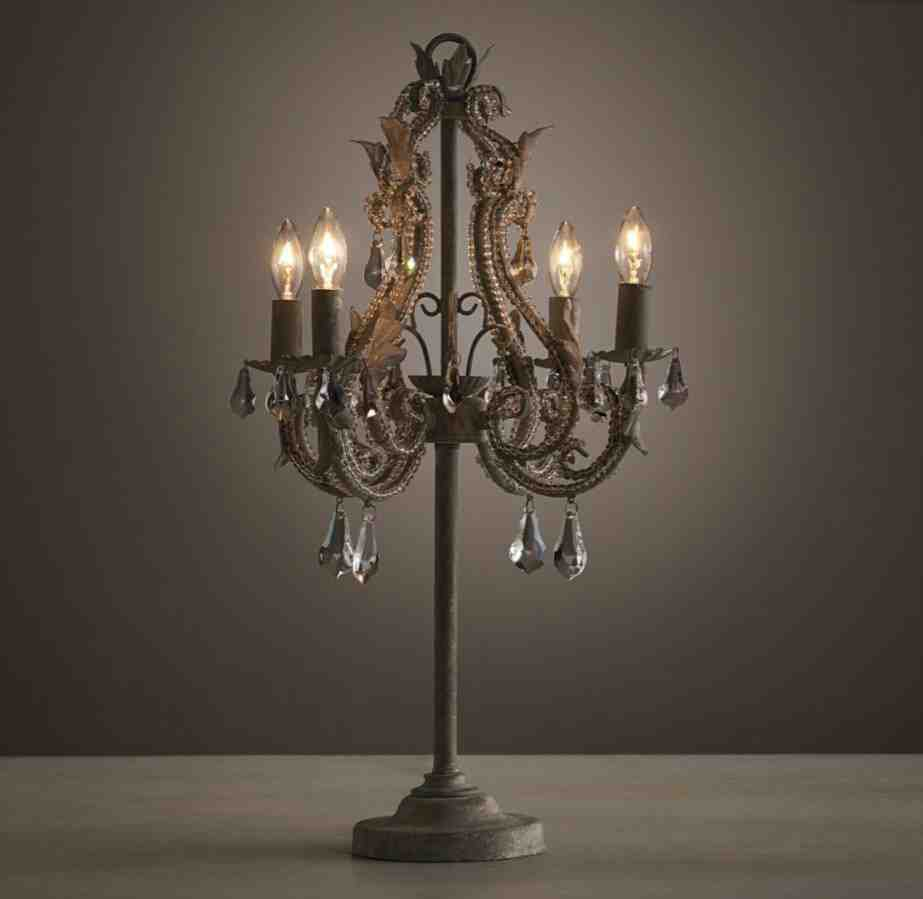Table Lamp Chandelier Style