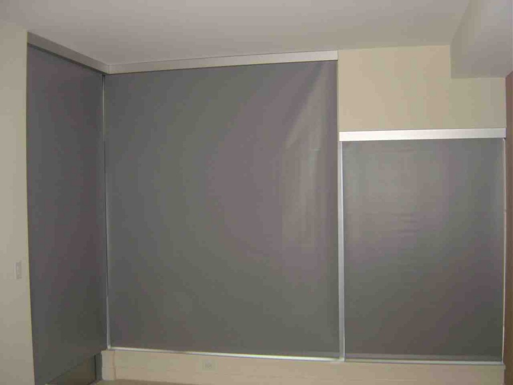 Temporary Blackout Blinds