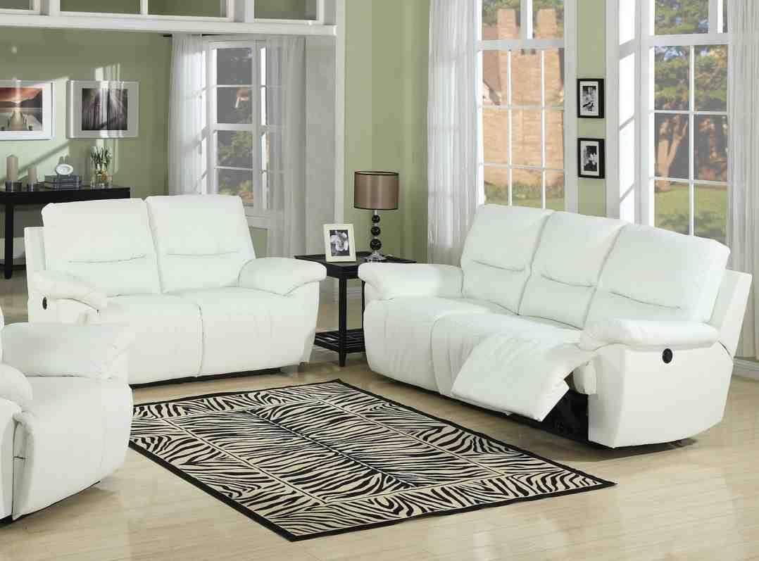 white leather living room set  decor ideas