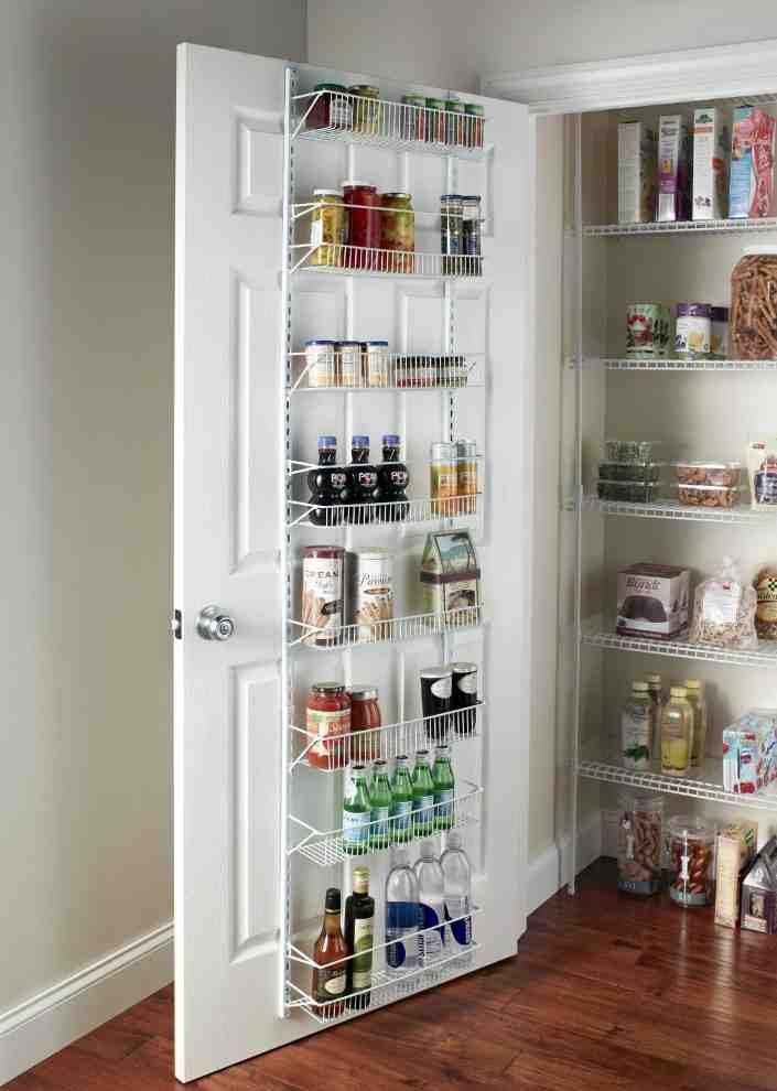 Adjustable Pantry Shelving