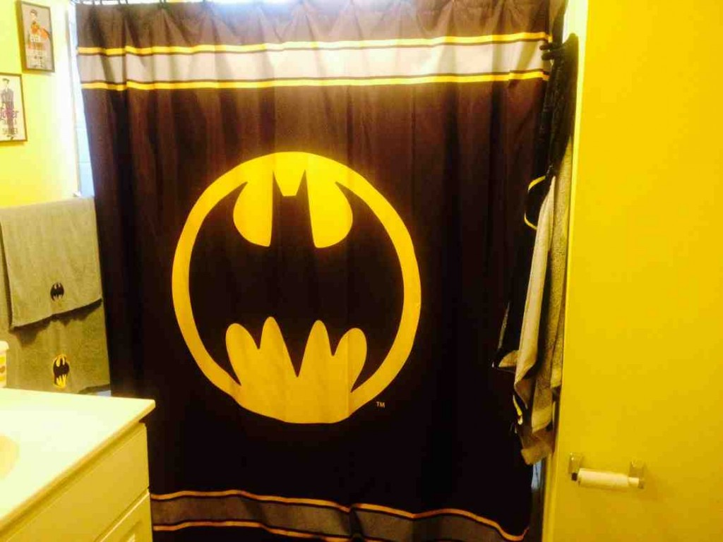 Batman Bathroom Decor