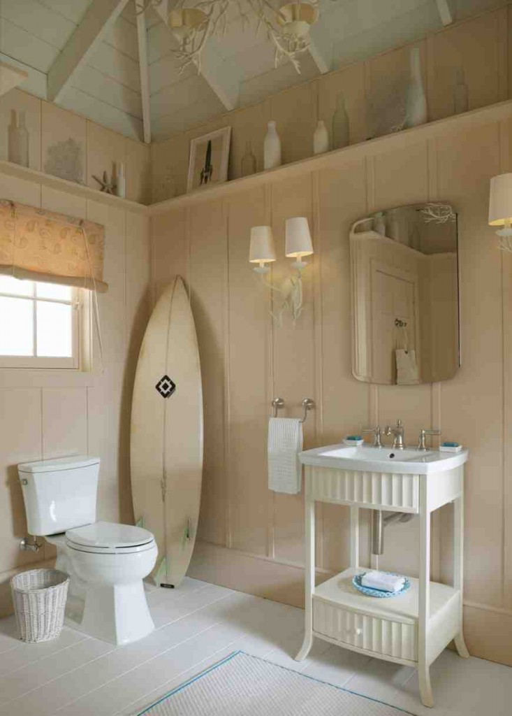 Beachy Bathroom Decor