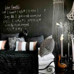 Black Wall Decorating Ideas