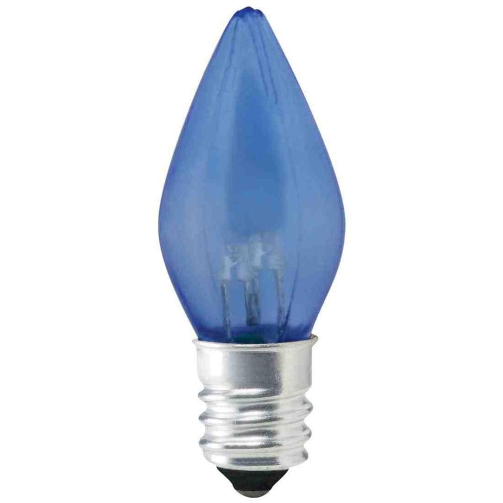 Blue Candelabra Bulbs