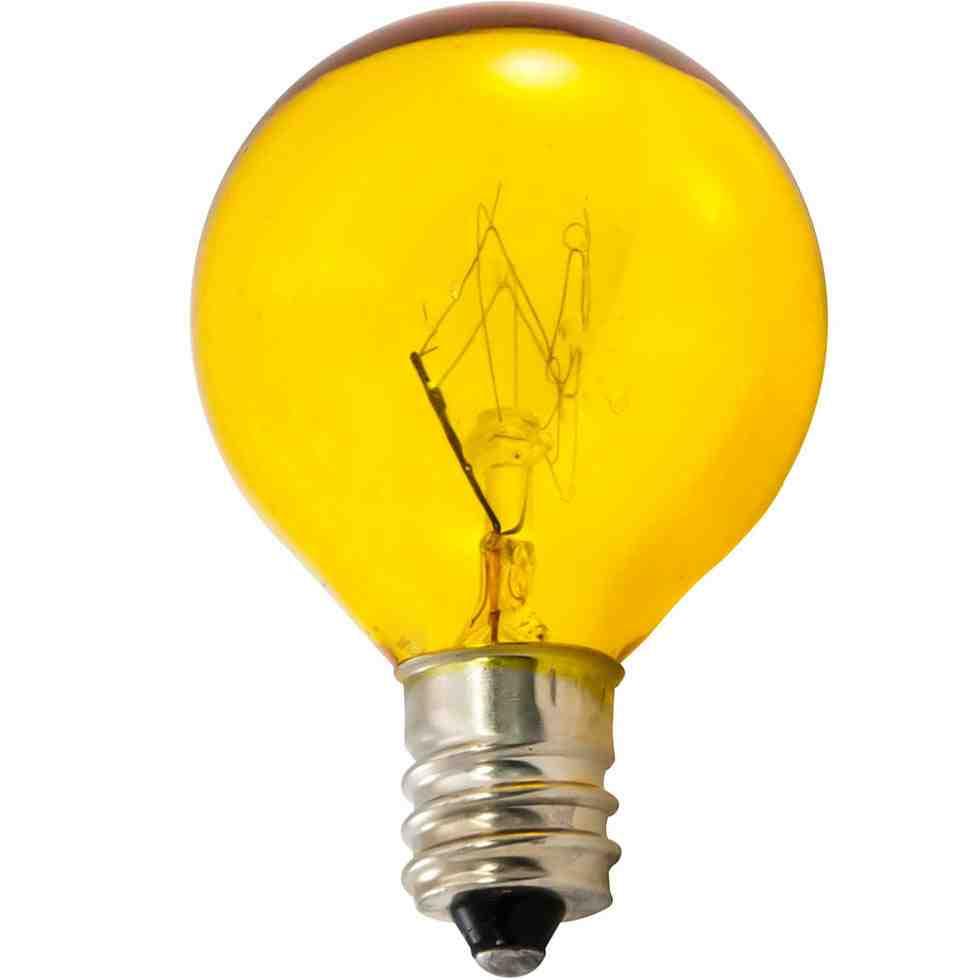 Colored Candelabra Bulbs