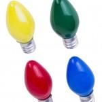 Colored Candelabra Light Bulbs