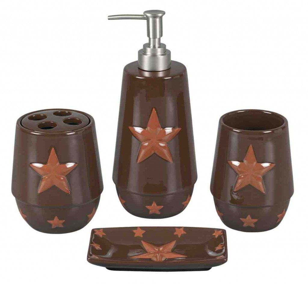 Country Star Bathroom Decor