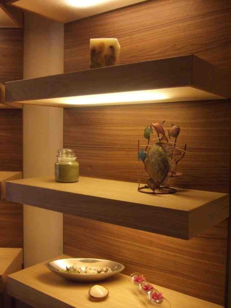 Custom Floating Wall Shelves