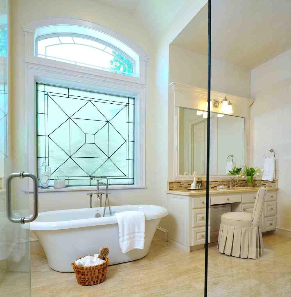 Decorative Bathroom Windows