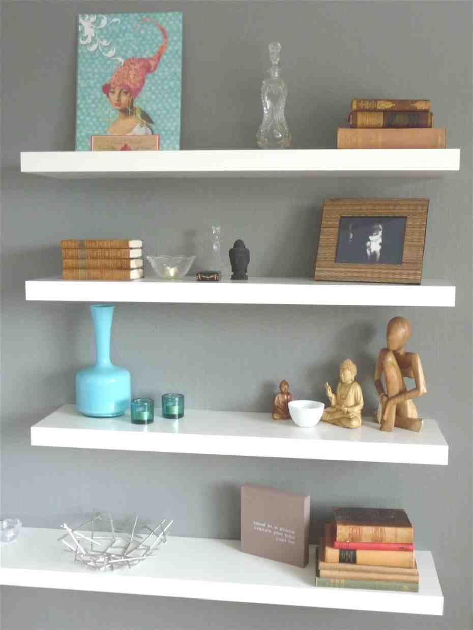 Floating Wall Shelves Decorating Ideas - Decor Ideas
