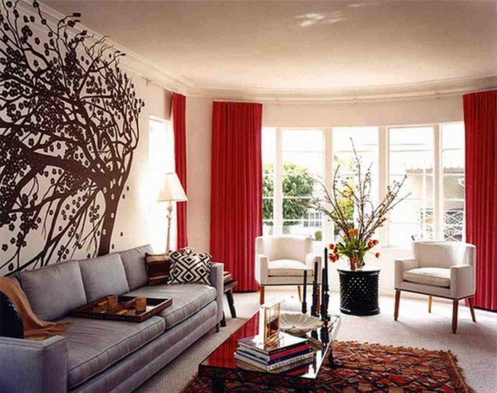 Interior Paint Design Ideas for Living Rooms