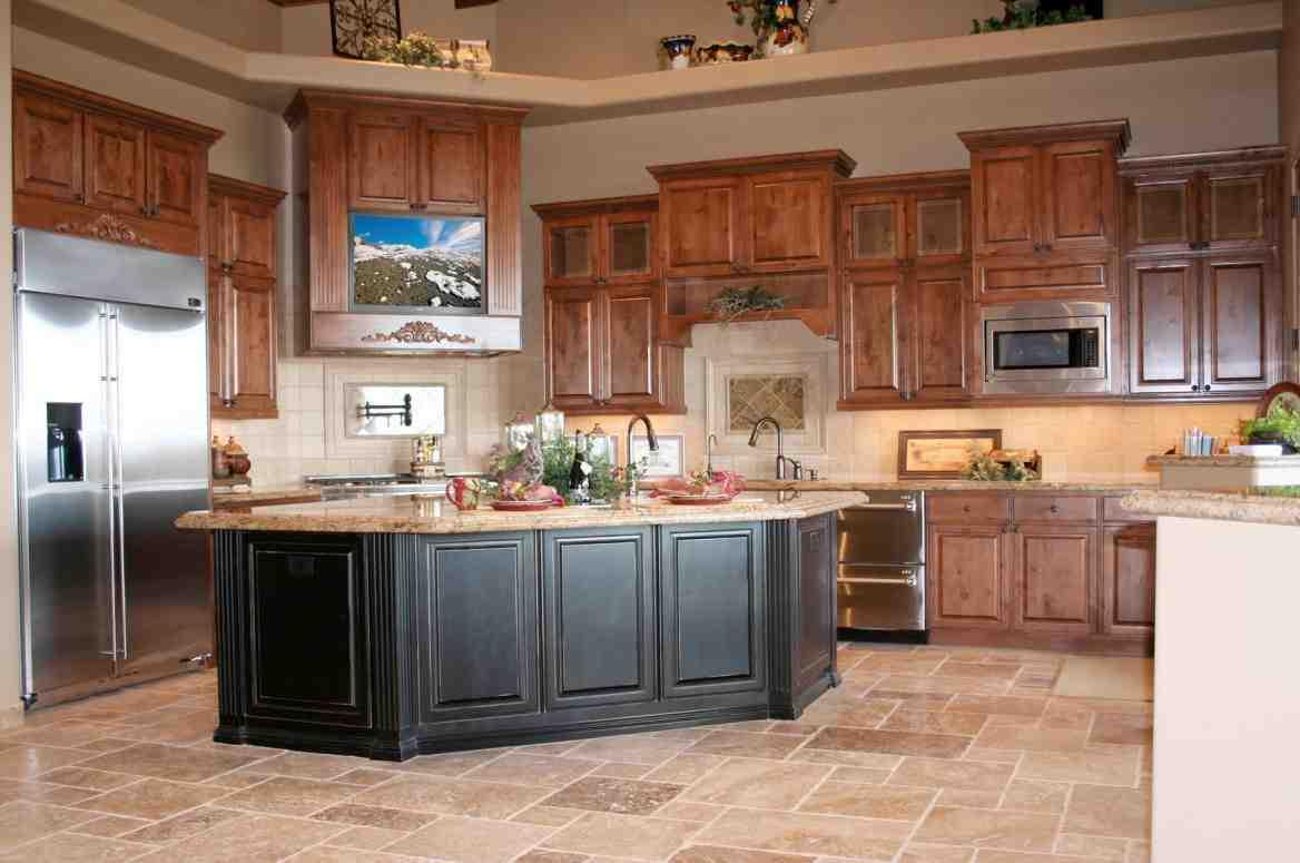 Medium Oak Kitchen Cabinets Decor Ideas