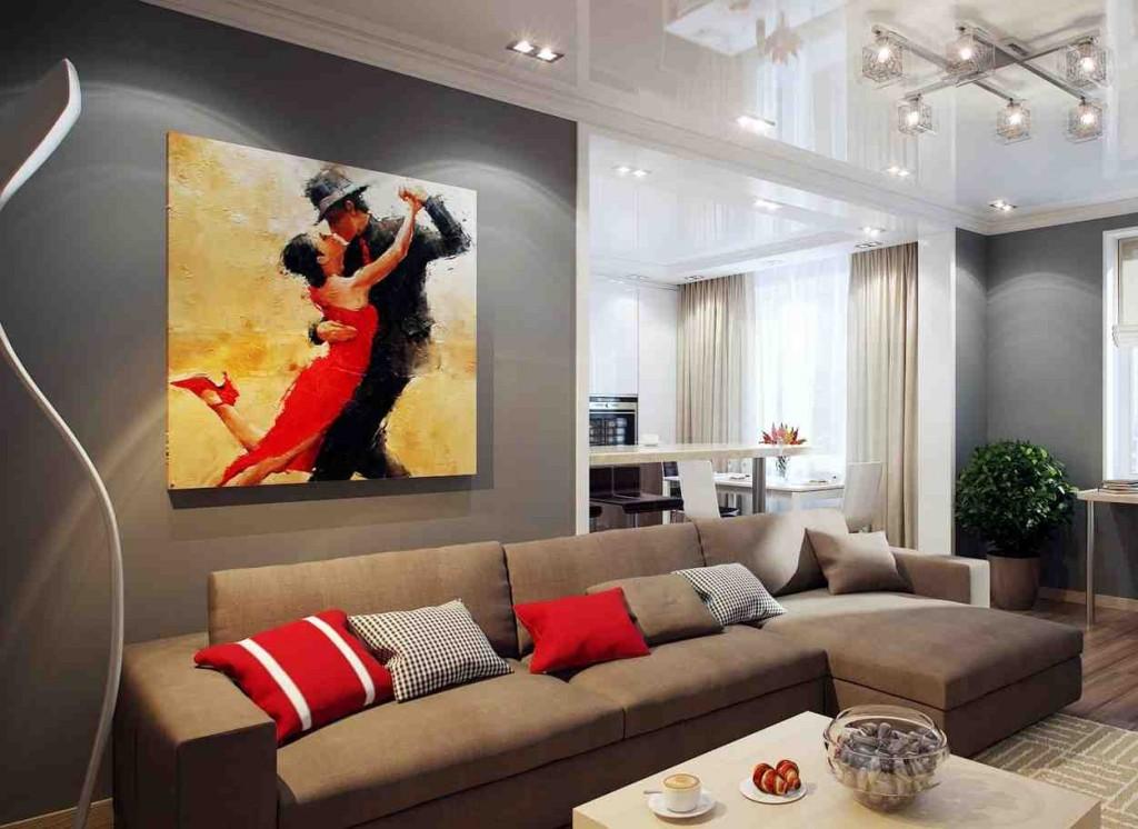 Modern Living Room Paint