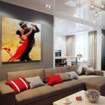 Modern Living Room Paint