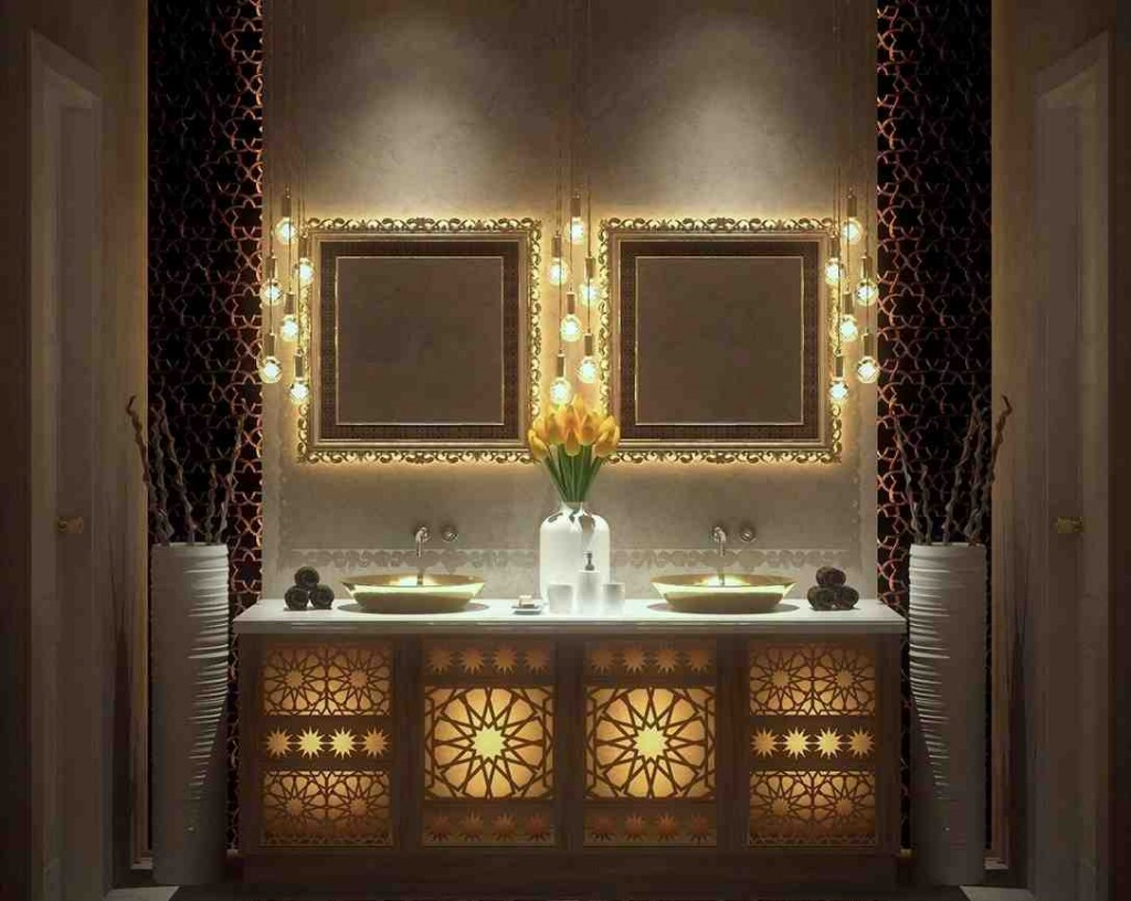 Moroccan Bathroom Decor