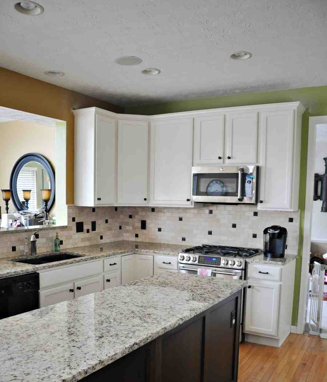 Ideas For Redoing Kitchen Cupboards: Oak Kitchen Cabinet Makeover