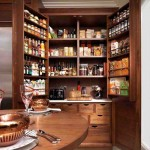 Oak Kitchen Pantry Cabinet