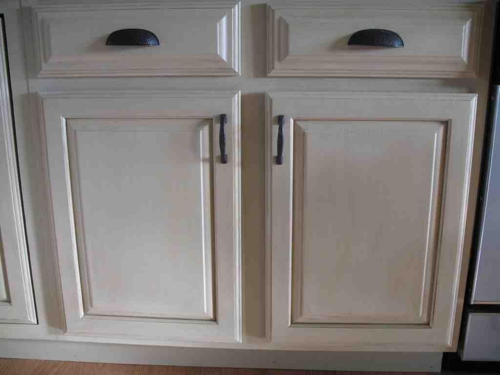 Painted Oak Kitchen Cabinets