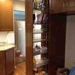 Pantry Cabinet with Pull Out Shelves
