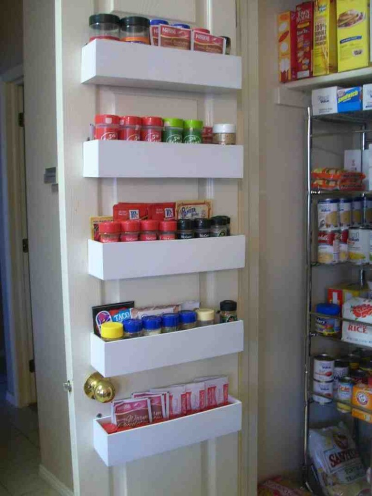 Pantry Door Shelving