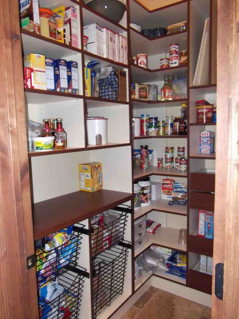 Pantry Shelving Systems for Home
