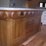 Quarter Sawn Oak Kitchen Cabinets