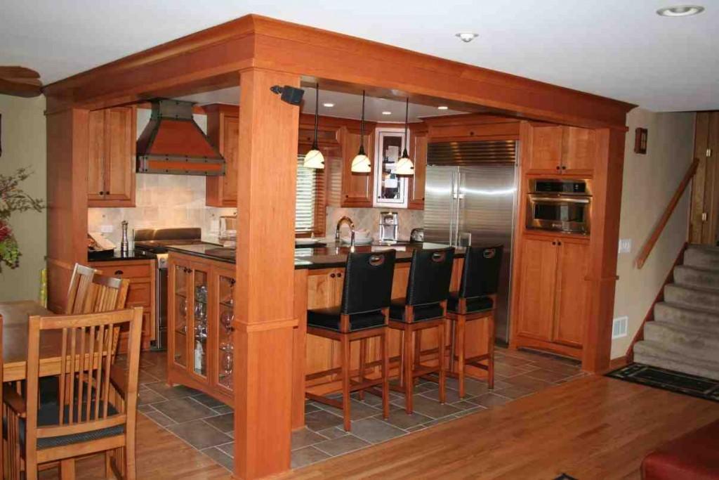 Red Oak Kitchen Cabinets