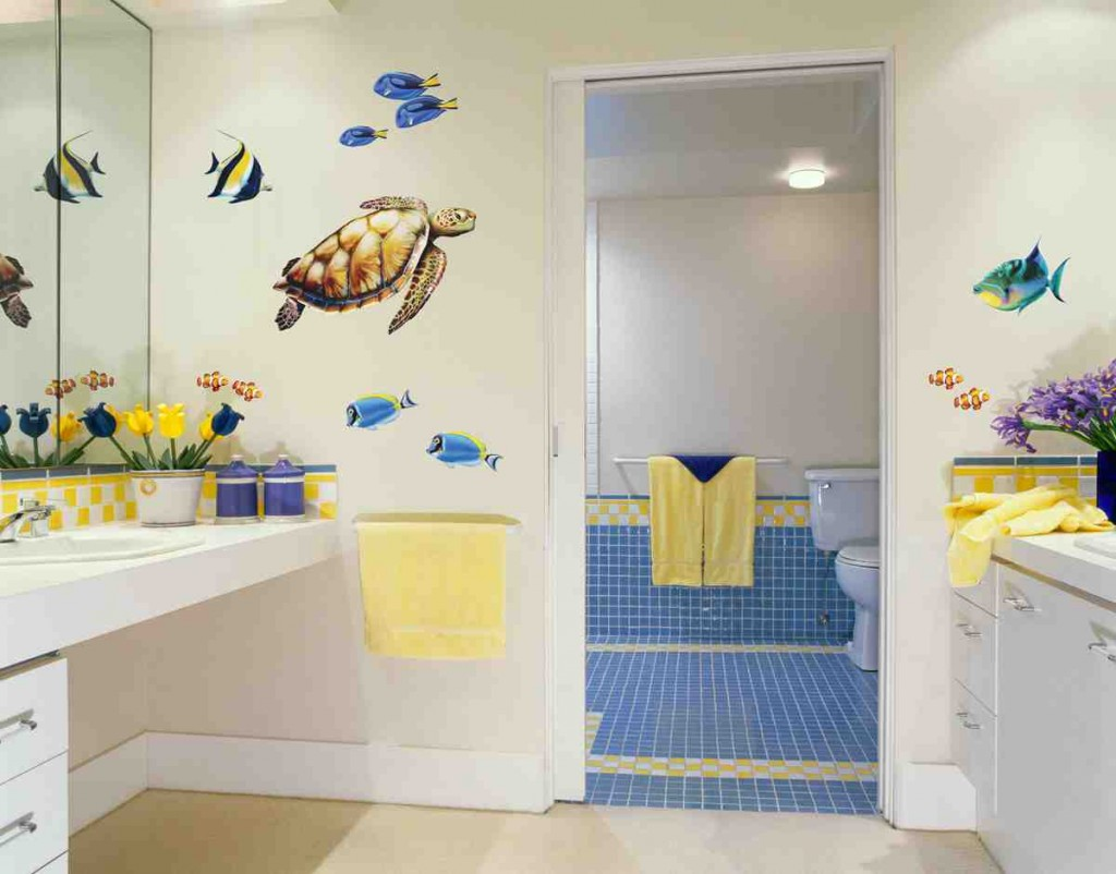 Sea Turtle Bathroom Decor