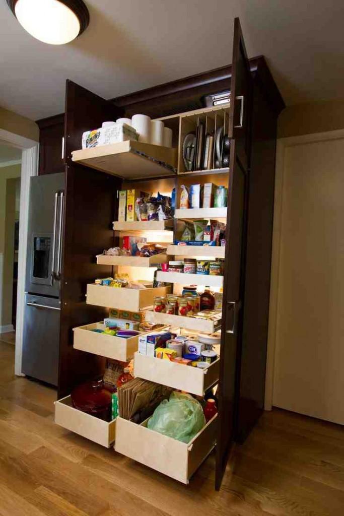 Slide Out Shelves for Pantry