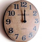 Small Kitchen Wall Clocks