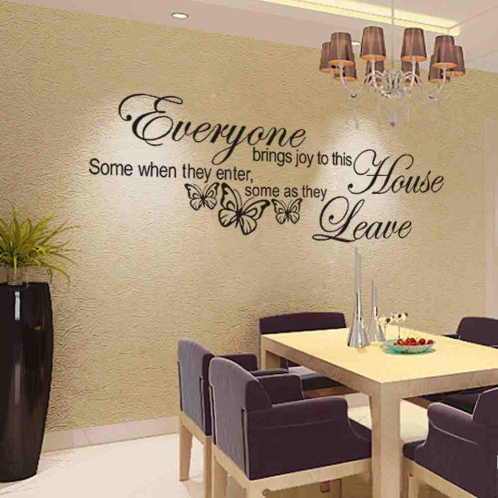 Wall Decor Decals Quotes