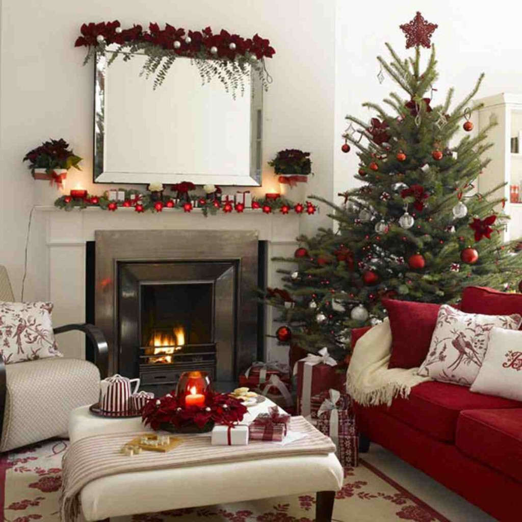 Apartment Christmas Decorating