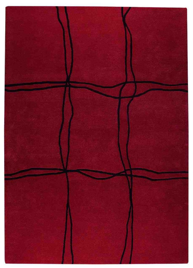 Area Rugs with Red