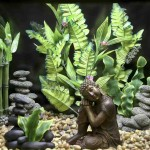 Asian Aquarium Decor
